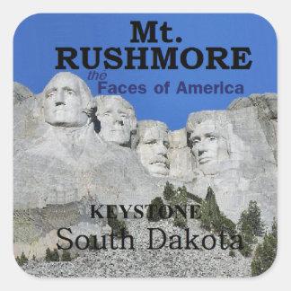 Mt. Rushmore Square Sticker