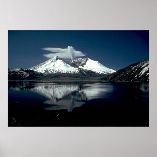 Mt. Saint Helens Print