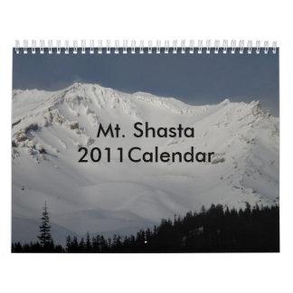 Mt. Shasta 2011Calendar Calendars