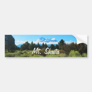 Mt Shasta Bumper Sticker