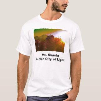 Mt. Shasta Golden City of Light T-Shirt