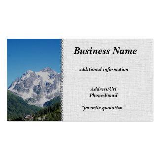 Mt. Shuksan Pack Of Standard Business Cards