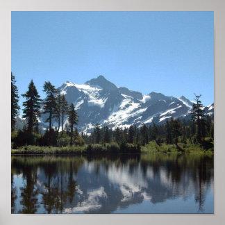 Mt Shuksan Posters