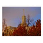 Mt. Timpanogos LDS Mormon Temple ,  Utah Postcard