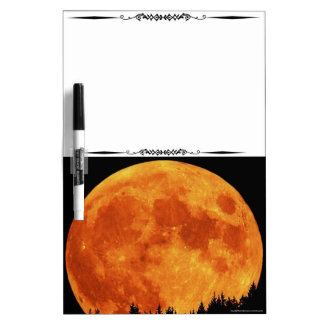 Mt Top Harvest Moon Decorative Dry Erase Board