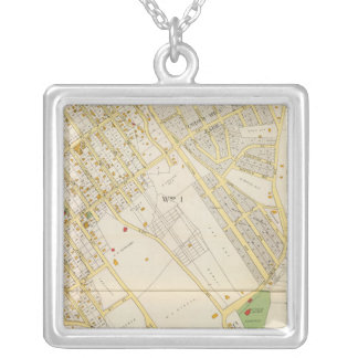 Mt Vernon 1 Silver Plated Necklace