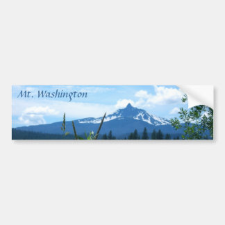 Mt. Washington Bumper Sticker