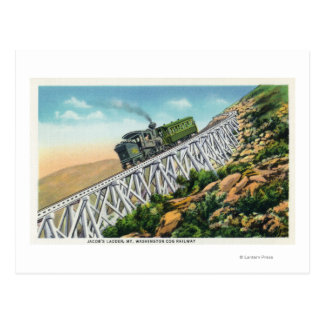 Mt Washington Cog Railway, Jacob's Ladder Postcards