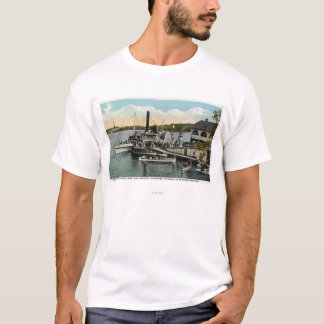 Mt. Washington, Gov. Endicott Steamers Docked T-Shirt
