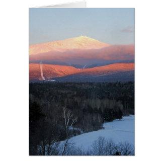 Mt Washington Note Card