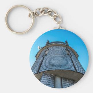 Mt. Washington Observatory Button Keychain