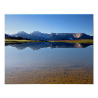 Mt Whitney from Bighorn Plateau 2- John Muir Trail Poster