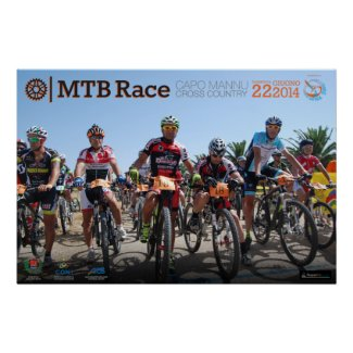 MTB Race 2014 Poster Partenza Posters