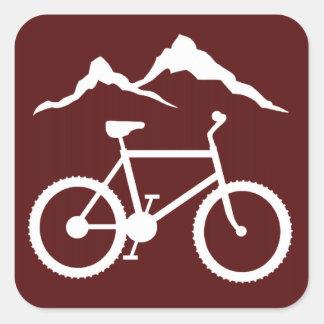 MTB Trail Marker Stickers