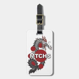 MTCHS Dragon Logo Luggage Tag