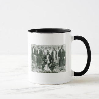 Mtesa,the Emperor of Uganda and other chiefs Mug