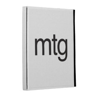 mtg iPad case