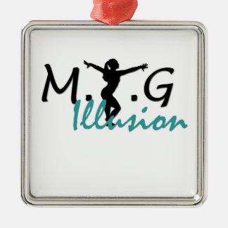 MTG Illusion Premium Square Ornament