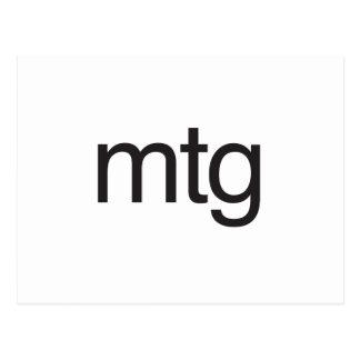 mtg post cards
