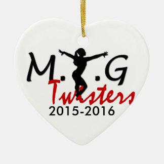 MTG Twisters Heart Ornament