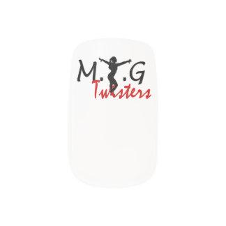 MTG Twisters Nail Art