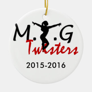MTG Twisters Round Ornament