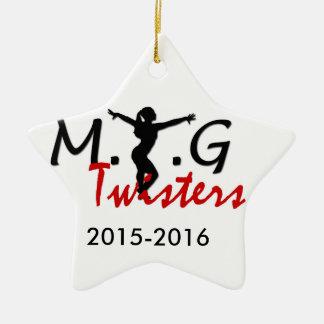 MTG Twisters Star Ornament
