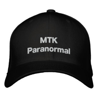 MTKParanormal Team Hat Embroidered Baseball Caps