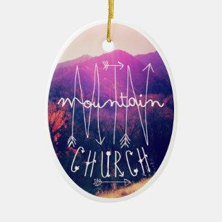 MTN Church Christmas Ornament