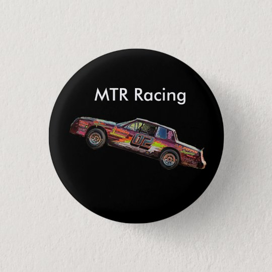MTR Racing 3 Cm Round Badge
