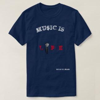 MU$IC IS LIFE T-Shirt. T-Shirt