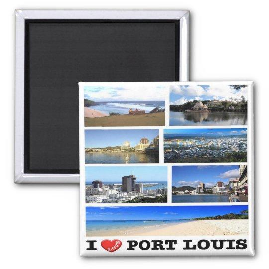 MU - Mauritius - I Love - Collage