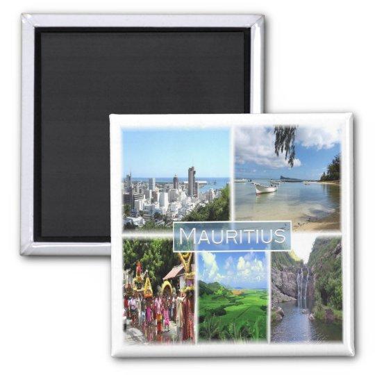 MU * Mauritius - Port Louis Magnet