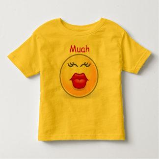 Muah  kiss toddler shirt