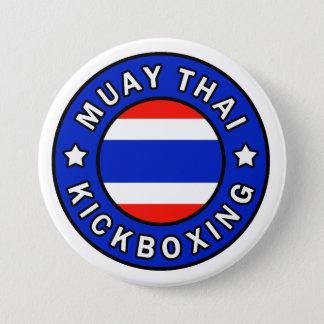 Muay Thai 7.5 Cm Round Badge