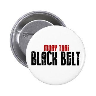 Muay Thai Black Belt Karate Pin