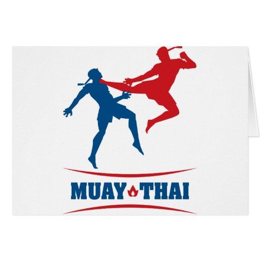 Muay Thai Greeting Cards