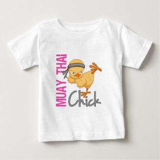 Muay Thai Chick Baby T-Shirt