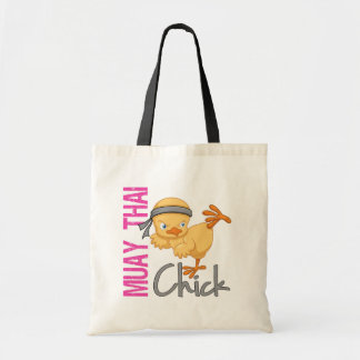 Muay Thai Chick Tote Bag