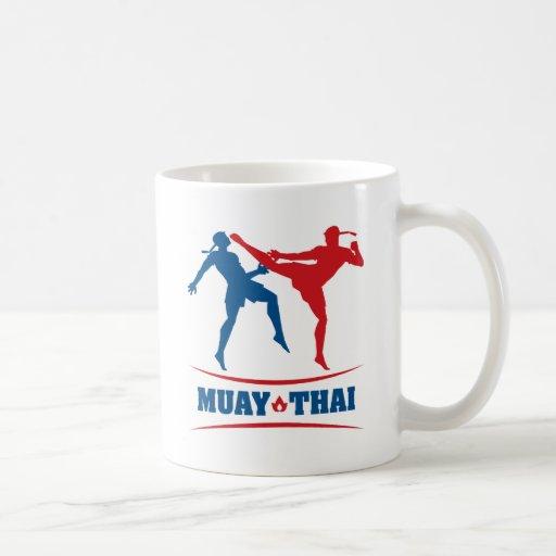 Muay Thai Classic White Coffee Mug