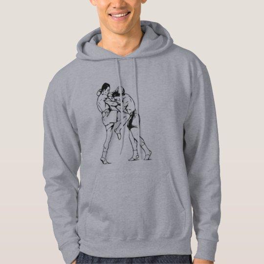 muay thai clinch hoodie