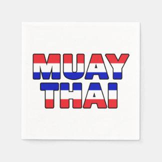 Muay Thai Disposable Serviettes