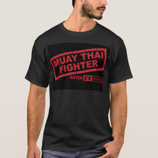 Muay Thai Fighter(dark) T-Shirt