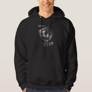 Muay Thai Fighter Hooded Sweatshirts