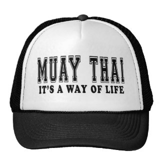 Muay Thai It's way of life Cap