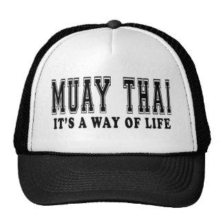 Muay Thai It's way of life Hat
