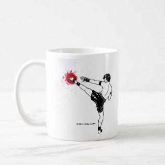 """Muay Thai, """"Just Kick It!"""" mug"""