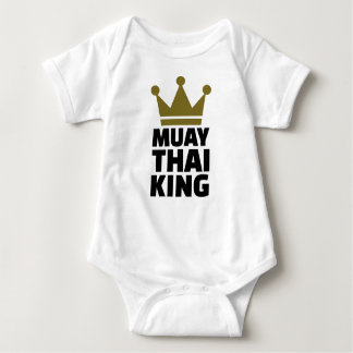 Muay Thai King Baby Bodysuit