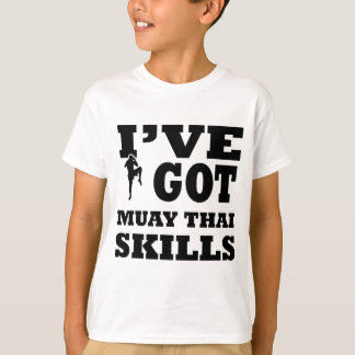 Muay Thai Martial Arts designs T-Shirt