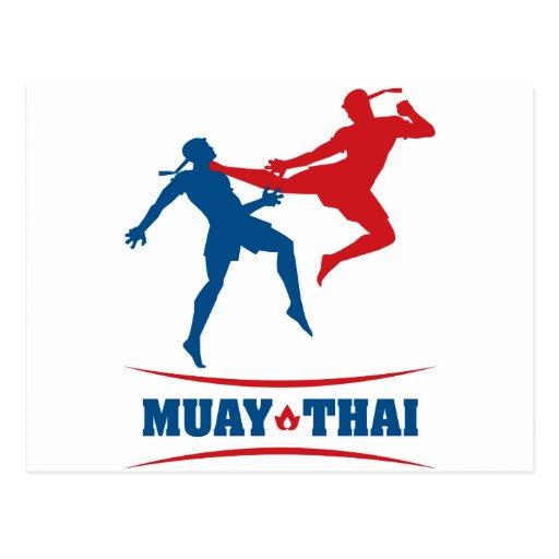 Muay Thai Postcards